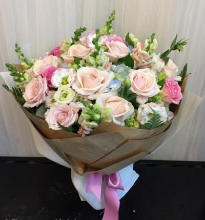 Hoa bó tròn đẹp - HT230