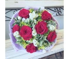 Hoa bó tình nồng thắm - HT148