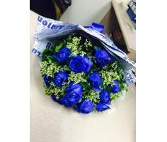 Bó hoa xanh nồng thắm - HT72