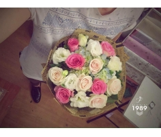Hoa bó tròn - HT116