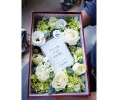 Hoa hộp đẹp - HT117