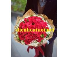 Bó hồng tươi đẹp - HT109