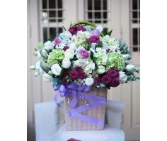 Giỏ hoa đẹp mã - HT113