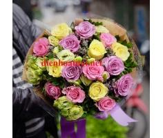 Bó hoa hồng đẹp - HT110