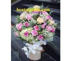 Hoa chúc mừng đẹp - HT365