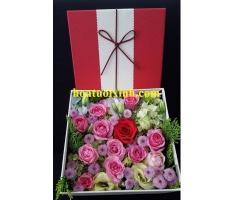 Hoa hộp đẹp - HT370