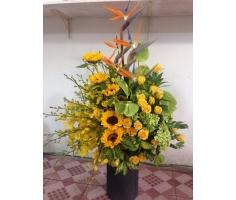 Giỏ hoa lan - HT330