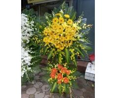 Giỏ hoa 2 tầng - HT94