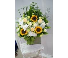 Giỏ hoa - HT409