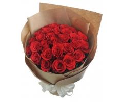 Bó hoa hồng đỏ - HT11