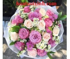 Hoa bó tròn - HT336