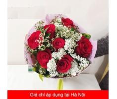 Hoa bó tình yêu đẹp - HT54