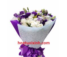Hoa bó tròn đẹp - HT272