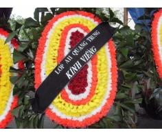 Vòng hoa tang lễ - HT137