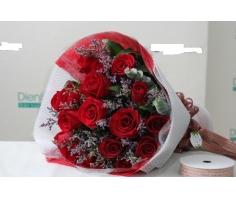 Bó hoa hồng đẹp mã - HT20