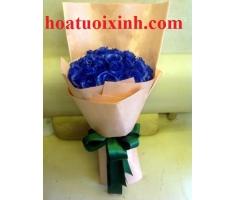Bó hoa xanh - HT333