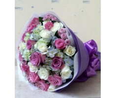 Bó hoa hồng đỏ - HT163