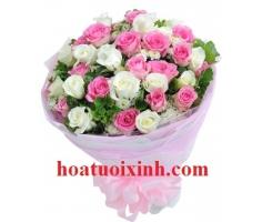 Bó hoa hồng - HT245