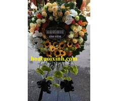 Hoa tang lễ kiểu mới- HT251