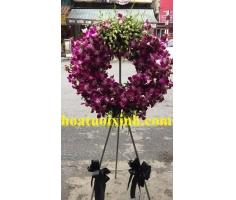 Hoa chia buồn tím - HT259