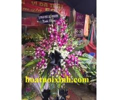 Hoa tang lễ tím - HT260
