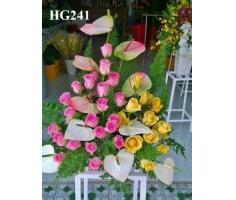 Giỏ hoa chúc mừng - HT157