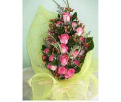Hoa sinh nhật hồng - HT38