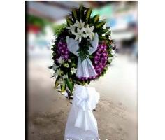 Vòng hoa tang lễ - HT264